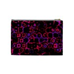 Psychedelic Lights 3 Cosmetic Bag (Medium)  Back