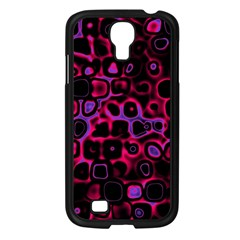 Psychedelic Lights 3 Samsung Galaxy S4 I9500/ I9505 Case (black) by MoreColorsinLife