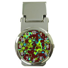 Psychedelic Lights 6 Money Clip Watches by MoreColorsinLife
