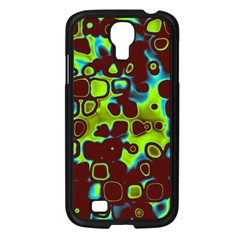 Psychedelic Lights 6 Samsung Galaxy S4 I9500/ I9505 Case (black) by MoreColorsinLife