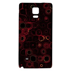 Psychedelic Lights 4 Galaxy Note 4 Back Case by MoreColorsinLife