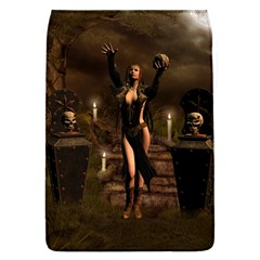 The Dark Side, Dark Fairy With Skulls In The Night Flap Covers (l)  by FantasyWorld7