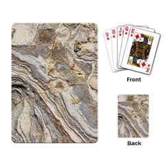 Background Structure Abstract Grain Marble Texture Playing Card
