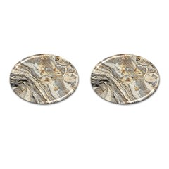 Background Structure Abstract Grain Marble Texture Cufflinks (oval) by Nexatart