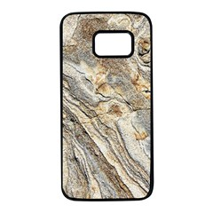 Background Structure Abstract Grain Marble Texture Samsung Galaxy S7 Black Seamless Case by Nexatart