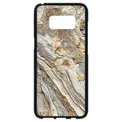 Background Structure Abstract Grain Marble Texture Samsung Galaxy S8 Black Seamless Case