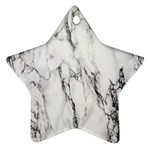 Marble Granite Pattern And Texture Ornament (Star) Front