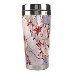 Marble Pattern Stainless Steel Travel Tumblers by Nexatart