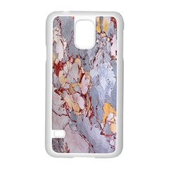Marble Pattern Samsung Galaxy S5 Case (white) by Nexatart