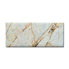 Marble Texture White Pattern Surface Effect Cosmetic Storage Cases