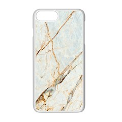 Marble Texture White Pattern Surface Effect Apple Iphone 7 Plus White Seamless Case