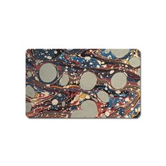 Marbling Magnet (name Card)