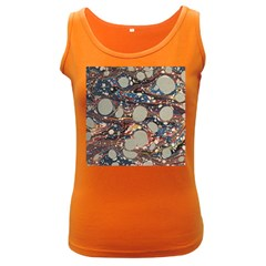 Marbling Women s Dark Tank Top