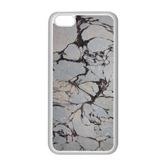 Slate Marble Texture Apple Iphone 5c Seamless Case (white) by Nexatart