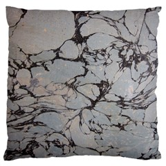 Slate Marble Texture Large Flano Cushion Case (two Sides) by Nexatart