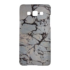 Slate Marble Texture Samsung Galaxy A5 Hardshell Case  by Nexatart