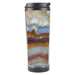 Wall Marble Pattern Texture Travel Tumbler by Nexatart
