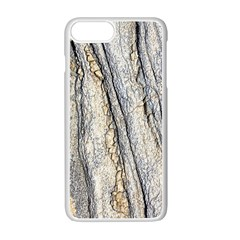 Texture Structure Marble Surface Background Apple Iphone 7 Plus White Seamless Case by Nexatart