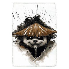 Warrior Panda T Shirt Flap Covers (l)  by AmeeaDesign