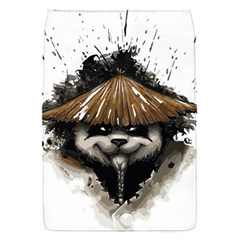 Warrior Panda T Shirt Flap Covers (s)  by AmeeaDesign