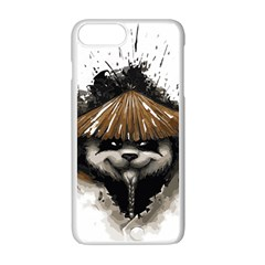 Warrior Panda T Shirt Apple Iphone 7 Plus White Seamless Case by AmeeaDesign