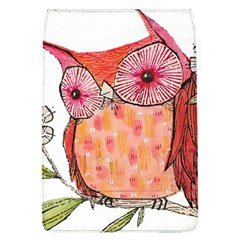 Summer Colourful Owl T Shirt Flap Covers (l)  by AmeeaDesign