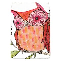 Summer Colourful Owl T Shirt Flap Covers (s)  by AmeeaDesign