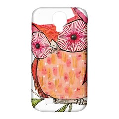 Summer Colourful Owl T Shirt Samsung Galaxy S4 Classic Hardshell Case (pc+silicone) by AmeeaDesign