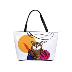 Owl That Hates Summer T Shirt Shoulder Handbags by AmeeaDesign