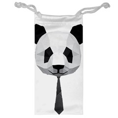 Office Panda T Shirt Jewelry Bag by AmeeaDesign