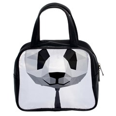 Office Panda T Shirt Classic Handbags (2 Sides) by AmeeaDesign