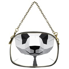 Office Panda T Shirt Chain Purses (one Side)  by AmeeaDesign