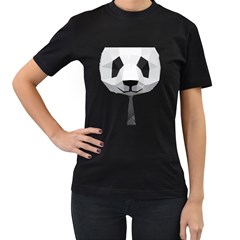 Office Panda T Shirt Women s T Shirt (black)