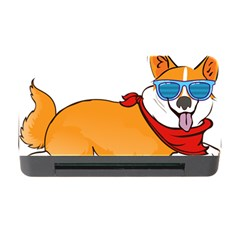 Corgi With Sunglasses And Scarf T Shirt Memory Card Reader With Cf by AmeeaDesign