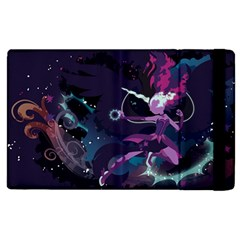 Midnight Sparkle Stream Wall  Apple Ipad 3/4 Flip Case by amphoto