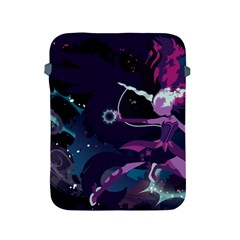 Midnight Sparkle Stream Wall  Apple Ipad 2/3/4 Protective Soft Cases by amphoto
