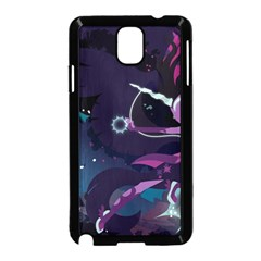 Midnight Sparkle Stream Wall  Samsung Galaxy Note 3 Neo Hardshell Case (black) by amphoto