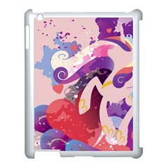 Cadance Stream Wall  Apple Ipad 3/4 Case (white) by amphoto