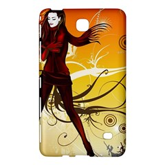Girl Autumn Grass  Samsung Galaxy Tab 4 (8 ) Hardshell Case  by amphoto