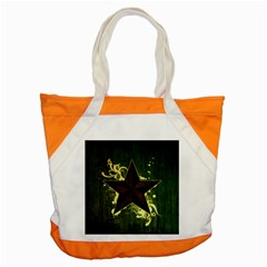 Star Dark Pattern  Accent Tote Bag by amphoto