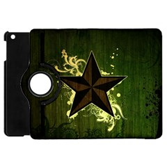 Star Dark Pattern  Apple Ipad Mini Flip 360 Case by amphoto