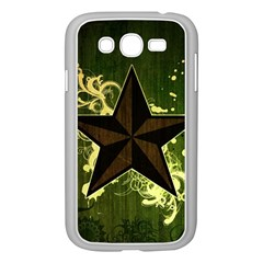 Star Dark Pattern  Samsung Galaxy Grand Duos I9082 Case (white) by amphoto