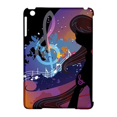 Black Octavia Stream Wall  Apple Ipad Mini Hardshell Case (compatible With Smart Cover) by amphoto