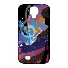Black Octavia Stream Wall  Samsung Galaxy S4 Classic Hardshell Case (pc+silicone) by amphoto