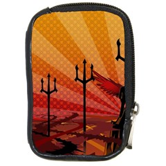 Wings Drawing Poles  Compact Camera Cases by amphoto