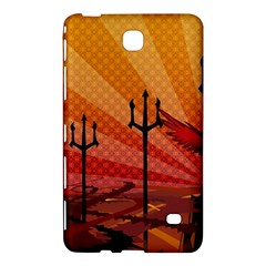 Wings Drawing Poles  Samsung Galaxy Tab 4 (8 ) Hardshell Case  by amphoto