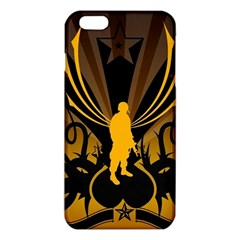 Soldiers Army Line  Iphone 6 Plus/6s Plus Tpu Case by amphoto