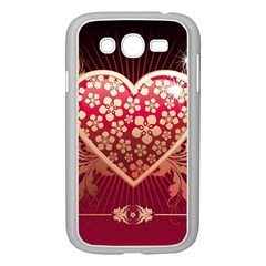 Heart Patterns Lines  Samsung Galaxy Grand Duos I9082 Case (white) by amphoto