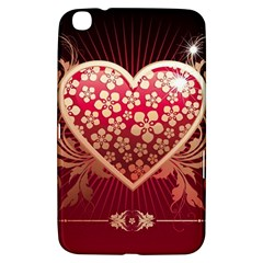 Heart Patterns Lines  Samsung Galaxy Tab 3 (8 ) T3100 Hardshell Case  by amphoto