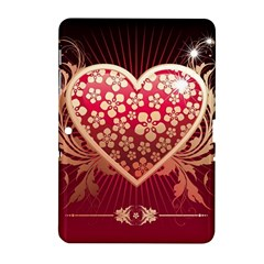 Heart Patterns Lines  Samsung Galaxy Tab 2 (10 1 ) P5100 Hardshell Case  by amphoto